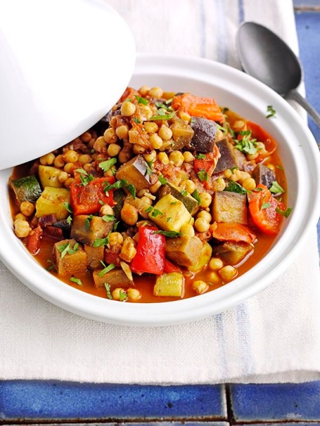 Moraccan Veg and Chickpea